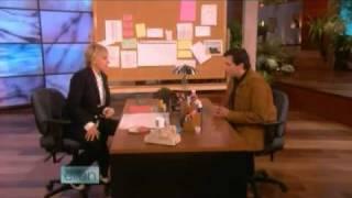 Ellen plays Improv-Game with Steve Carell 11/13/08