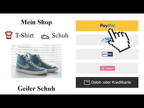Eigener Online Shop + Paypal | HTML, CSS, Javascript Tutorial für Anfänger