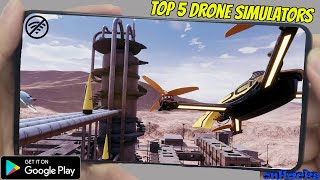 Top 5 Drone Simulator Games | Best Drone Games For Android | Top Quadcopter Games of 2020