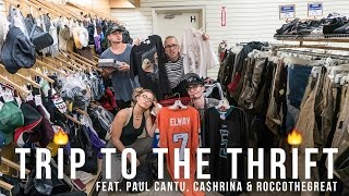 Trip To The Thrift #50 | Thrifting in NEW YORK feat. Paul Cantu, Ca$hrina, & Roccothegreat