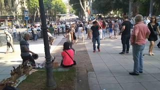 Уличные музыканты в Тбилиси
