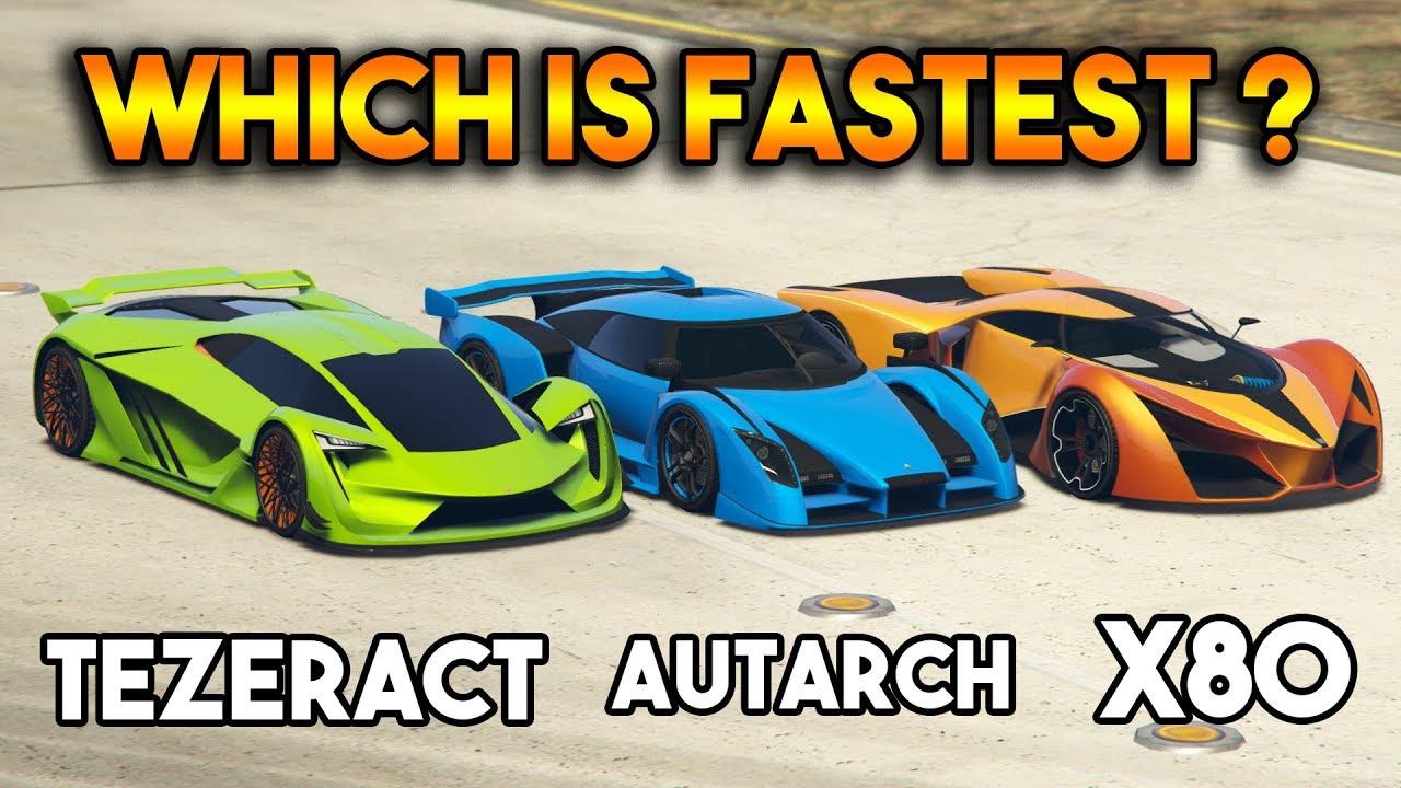 Fastest Car In Gta 5 Online Youtube Gallery