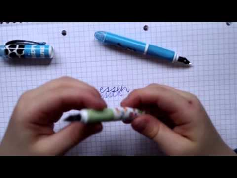 6 Kinder testen Schulfüller   Fountain Pen Review