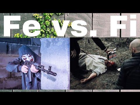 Fe vs. Fi (True Crime v. Horror Movies)