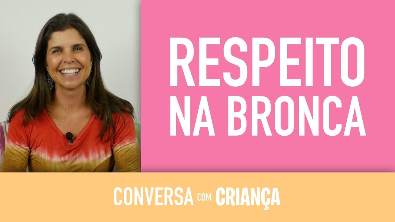 Respeito na bronca | Conversa com Criança