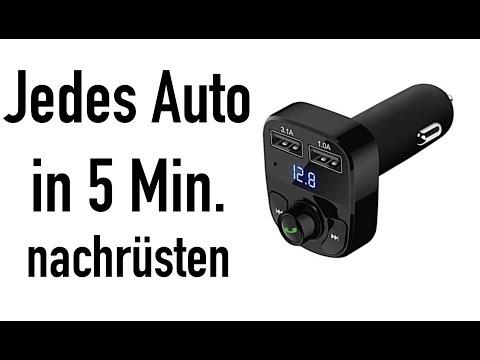JEDES AUTO UNTER 20€ MIT USB BLUETOOTH + FREISPRECHEINRICHTUNG AUSSTATTEN!!