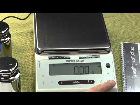 Mettler Toledo Gold Weighing Scale