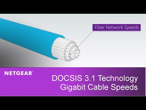 DOCSIS 3.1 Technology Explained | NETGEAR Gigabit Cable Internet