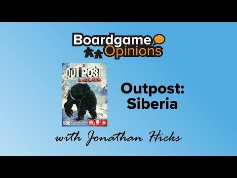 Boardgame Opinions: Outpost: Siberia