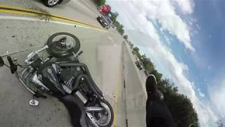 Мото аварии 2017 Май - Июнь Moto crash 2017 May - June
