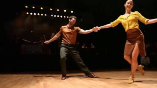 BLUES DANCE  Lisa Clarke And Fabien Vrillon