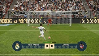 REAL MADRID vs LEVANTE   Penalty Shootout   PES 2019 Gameplay PC