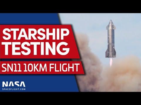 Starship SN11: nouvelle tentative de décollage aujourd'hui. MAJ: reporté à demain, voir tweet d'Elon Musk.