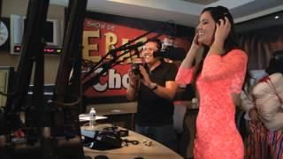 Celeste Santana de Acceso Total en El Show de Erazno y La Chokolata