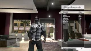 GTA 5 MAKING MODDED OUTFITS PS3