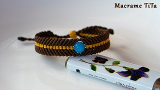 Macrame Bracelet Tutorial: Braided  Bracelet Tutorial | Simple | Easy | DIY Macrame Bracelet