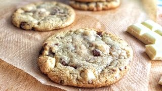 how to make chocolate chip cookies flat and chewy