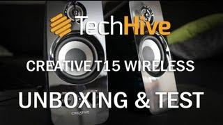 Creative T15 Wireless Bluetooth-Lautsprecher im Unboxing und Test
