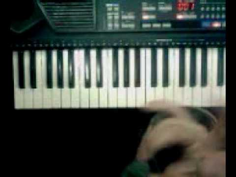 Very Easy How to play the piano/keyboard using guitar chord music