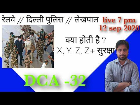 क्या होता है X, Y, Z , Z+ सुरक्षा // रेलवे// लेखपाल//