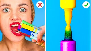 AWESOME DIY SCHOOL SUPPLIES || Funny Back To School Hacks!