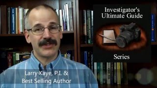 4 Things I wish I knew when I started as a private investigator.
