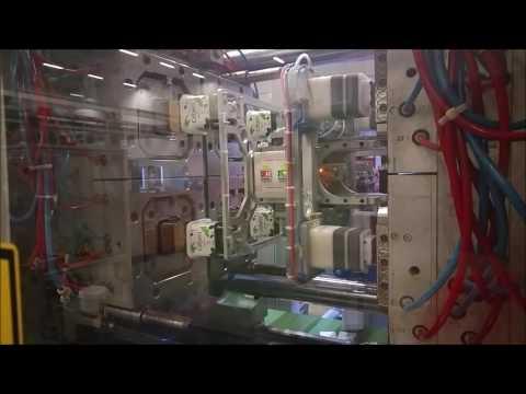 4 cavity wrap & buttom label iml robot and camera control Eurasia robotic