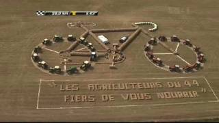 Tour De France Farmers Tractor Tribute