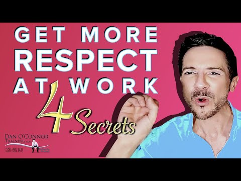 4 communication tactics to get respect immediately at work | online ...