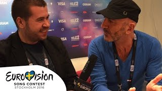 "Serhat (San Marino): ""It's a masterpiece for me!"" (Eurovision 2016)"