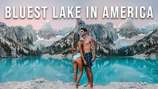 Grand Teton National Park's SHOCKINGLY BLUE LAKE