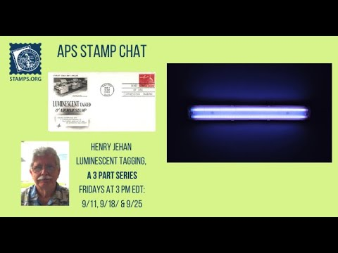 APS Stamp Chat: Luminiscent Tagging Part I with Mr. Henry Jehan