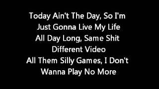 Chris Brown FT Tyga - Regular girl  (Lyrics on screen) karaoke  Fan of a fan mixtape