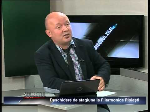 """Emisiunea """"Subiectul zilei"""" – Laurențiu Ganea – 18 septembrie 2014"""