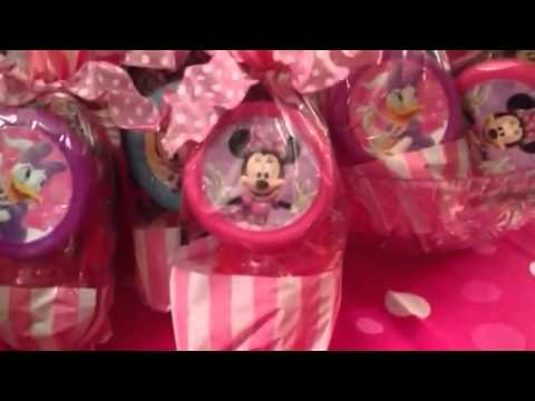 Minnie Mouse Party Favors Play
