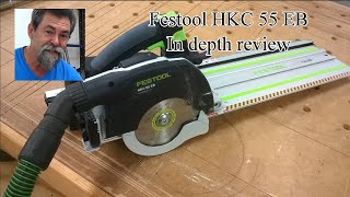 Festool HKC circular saw review. No Barry the pug in this video