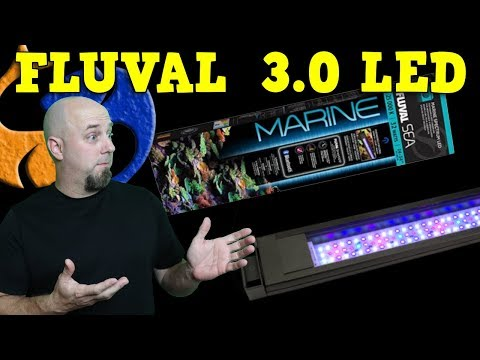 Fluval Sea Marine & Reef 3.0 LED Light Review and Comparison (on an African Cichlid Aquarium)