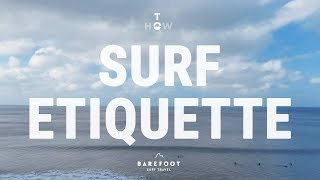 #12 Surfing Beginner – Surf etiquette