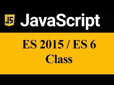 ES 6 Class in JavaScript (Hindi)
