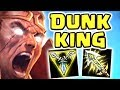 COME ON AND SLAM FULL AD DARIUS JUNGLE IS ACTUALLY FUN THE GAME SAVING STEAL DISGUSTING SPEEDS