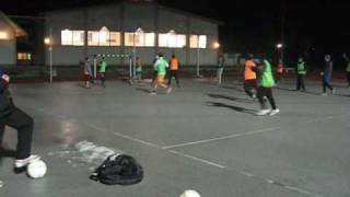 preview picture of video 'NK Naklo, trening 28. januar 2009 - rugby'