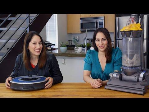 Roomba vs. regular vacuum