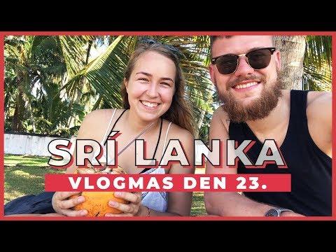 VLOGMAS Den 23. | První dny na Srí Lance!