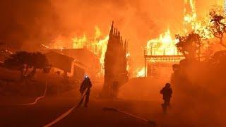 Катастрофические пожары в Калифорнии. Что произошло на нашей Планете 7 декабря 2017