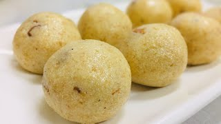 Rava Laddu With Condensed Milk Rava Laddu With Milkmaid Sooji Laddu