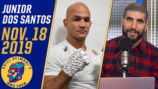 Junior Dos Santos feels lucky he didn't lose his leg due to an infection | Ariel Helwani's MMA Show