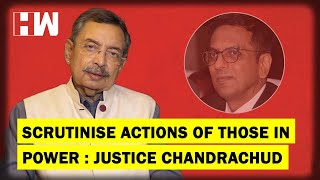 The Vinod Dua Show Ep 194: Scrutinise the actions of those in power: Justice DY Chandrachud