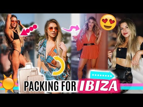 PACKING FOR IBIZA | TRAVEL OUTFITS & ESSENTIALS
