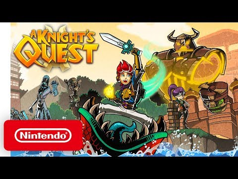 A Knight's Quest - Launch Trailer - Nintendo Switch thumbnail