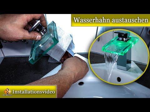 Wasserhahn am Waschbecken selbst wechseln - so geht's...